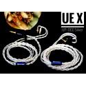 Original Cable - Zeus UEX - Cable haut de gamme UPOCC Argent 8 brins