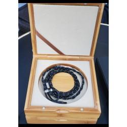 Rhapsodio cable silver wizard mk2 - câble argent 2 brins haut de gamme